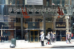 Safra National Bank Fotos de archivo
