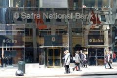 Safra National Bank zdjęcia stock