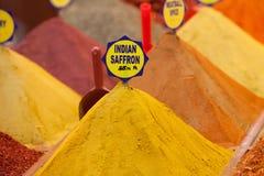 Safran indien, Istanbul, Turquie Image libre de droits