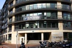 Safran S Un groupe Photographie stock