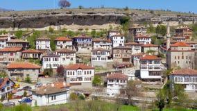 SAFRANBOLU, ΤΟΥΡΚΙΑ - ΤΟ ΜΆΙΟ ΤΟΥ 2015: Παραδοσιακό οθωμανικό από την Ανατολία χωριό απόθεμα βίντεο
