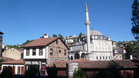 Safranbolu die Türkei, die alten türkischen Häuser Stockbild