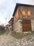 Safranbolu-Häuser Safranbolu wurde der Liste von UNESCO-Welterbestätten in 199 hinzugefügt Lizenzfreies Stockbild