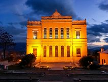 Safranbolu old Government Building.It was built on the hill called as castle in 1904 by the initia Royalty Free Stock Photos