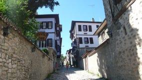 Safranbolu  old street. Old street bolu Stock Photos