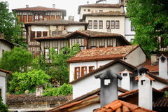 Safranbolu ottoman old houses Royalty Free Stock Photography