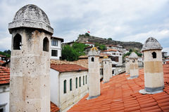 Safranbolu ottoman old houses Royalty Free Stock Images