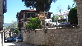 Safranbolu street. Central picture from aafranbolu Stock Photo