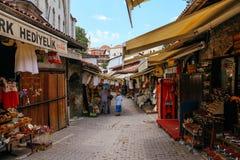 Turkish old traditional market in Safranbolu, Turkey