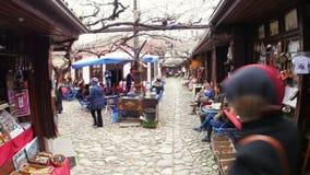 SAFRANBOLU, TURKIJE - MEI 2015: Traditionele Ottomanemarkt stock footage