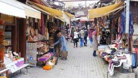 SAFRANBOLU, TURKIJE - MEI 2015: Traditionele Ottomanemarkt stock videobeelden
