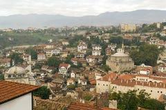 Safranbolustad, plaats centraal Turkije Mening van de stad van hierboven royalty-vrije stock foto's