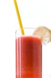 Saft der Mischfrüchte, Pfirsich-frisch drückte zusammen Stockfotos