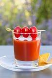 Saft der Tomaten Lizenzfreies Stockfoto