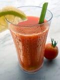 Saft der Tomaten Stockfotografie
