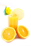 Saft-Orange lizenzfreie stockbilder