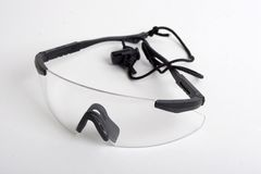 Saftey glasses Stock Images