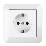 Saftey socket Royalty Free Stock Image