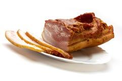 saftig bacon Royaltyfria Foton