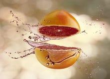 saftig frukt royaltyfri fotografi