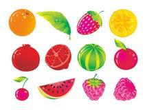 saftig frukt Arkivbilder
