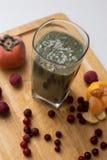 Saftig frukt och godis Arkivfoton