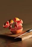 saftig grapefrukt Fotografering för Bildbyråer
