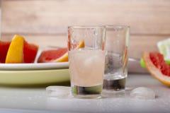 saftig grapefrukt Arkivfoton