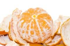saftig mandarin Arkivfoto