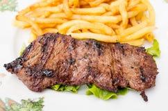 saftig meatsteak för nötkött Arkivfoton
