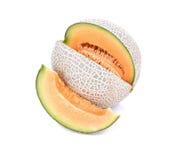 Saftig melon/A saftig honungsmelon för honungsdagg Melon/A från den Japan nollan Royaltyfri Fotografi