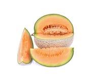 Saftig melon/A saftig honungsmelon för honungsdagg Melon/A från den Japan nollan Arkivfoton