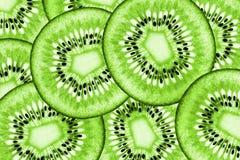 Saftig organisk Kiwifruitsammansättning Royaltyfri Fotografi