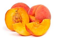 saftig persika söta tre Royaltyfri Bild