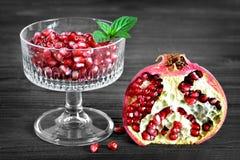 saftig pomegranate Royaltyfri Foto
