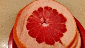 saftig red för grapefrukt Arkivfoton
