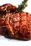 saftig steak Arkivfoton