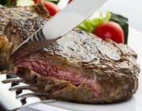 Saftig steak Royaltyfri Fotografi