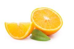 saftiga apelsiner Arkivfoto