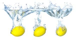 Saftiga citroner Royaltyfria Foton