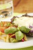 saftiga franska småfiskar för stek arkivfoto