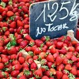 saftiga jordgubbar Royaltyfria Foton