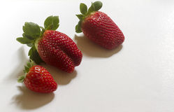 Saftiga jordgubbar Royaltyfria Bilder