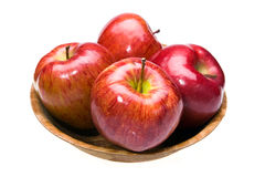 saftiga lays för äpplen arkivbilder