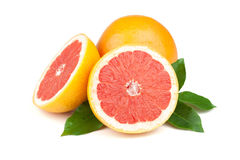 saftiga nya grapefrukter Arkivbild
