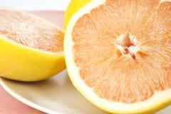 saftiga nya grapefrukter Royaltyfri Foto