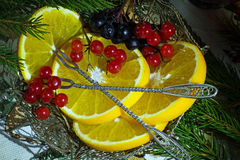 Saftiga och läckra apelsiner Royaltyfri Bild