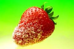 Saftige Erdbeere Lizenzfreies Stockbild
