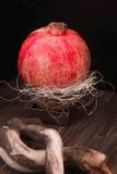 Saftige Granatäpfel Stockfotos
