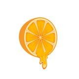 Saftige Orange Stockfotos